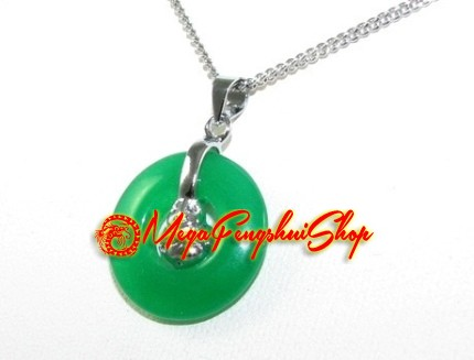 Laughing buddha coin jade pendant necklace mini laughing buddha coin jade pendant necklace aloadofball Image collections