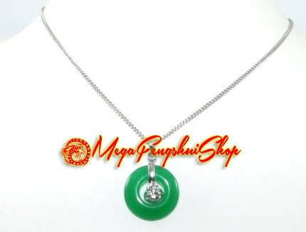 Mini laughing buddha coin jade pendant necklace aloadofball Image collections