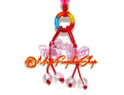 of Mandarin Ducks Feng Shui Mobile Hanging