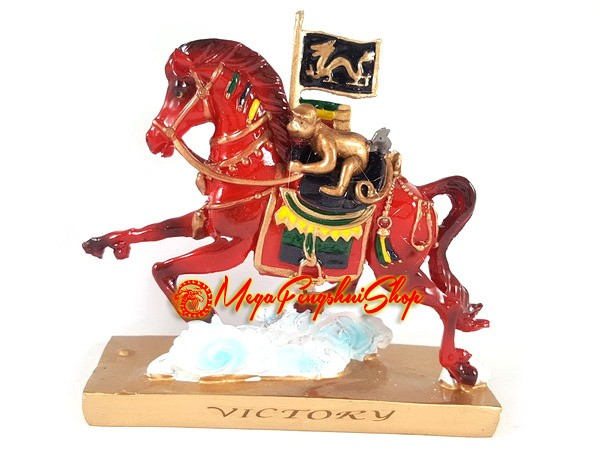 red victory horse with rat monkey and dragon