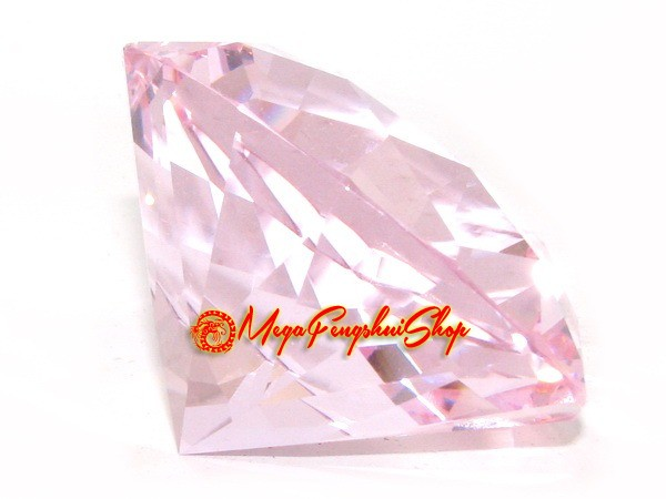 Wish Granting Jewel (Pink) for Love and Romance Luck 60mm
