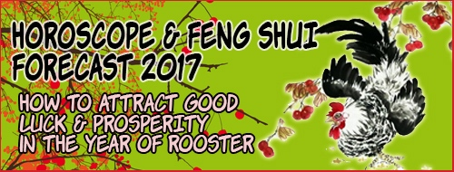 Feng Shui Horoscope Forecast 2017