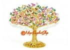 100 Birds on Wish Fulfilling Feng Shui Tree
