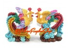 A pair of Colorful Fengshui Phoenix