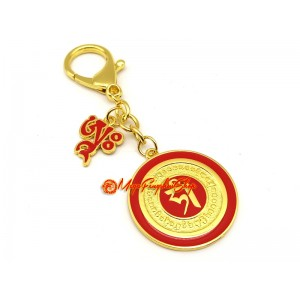 Ah Dakini Popularity Amulet Feng Shui Keychain
