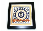 Anti Burglary Plaque - Rhinoceros and Elephant (Tile)
