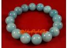 Aquamarine Crystal Elastic Bracelet (Top Grade)