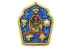 Bejeweled Blue Tara Gau Home Protection Amulet