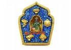 Bejeweled Blue Tara Gau Home Protection Amulet