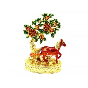 Bejeweled Peach Blossom Animal - Horse