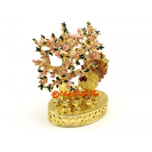 Bejeweled Peach Blossom Animal - Rooster