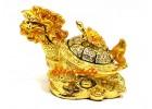 Bejeweled Prosperity Feng Shui Dragon Tortoise