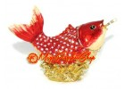 Bejeweled Wish-Granting Carp for Career Luck