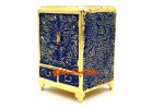 Blue Feng shui Wealth Cabinet