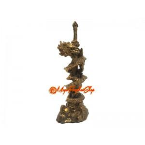 Brass Dragon Coiling Sword