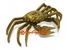 Brass Feng Shui Crab for Business Luck
