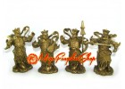 Brass Four Heavenly Gods (L)