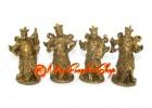 Brass Four Heavenly Kings