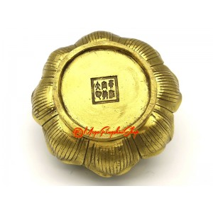 Brass Lotus Incense Burner