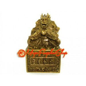 Brass Nine Dragons Imperial Seal