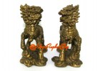 Brass Pair of Military Chi Lin (S)