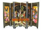 Chinese Mini Folding Screens -  Imperial Consorts and Concubines