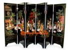 Chinese Mini Folding Screens - Saint Trace of Confucius