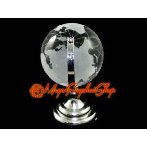 Clear Crystal Globe (l)