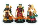 Colorful Fuk Luk Sau Statues