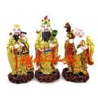 Colorful Fuk Luk Sau Statues (L)