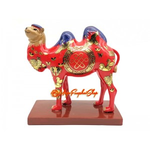 Double Humped Camel for Business Success & Healthy cash Flow (Red)