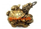 Dragon Tortoise with Child on Coins