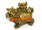 Dragon Tortoise with Chinese Emperor's Hat