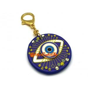 Evil Eye Anti-Jealousy Amulet Feng Shui Keychain