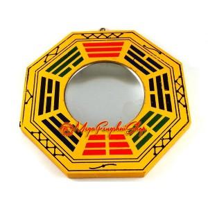 Feng Shui Bagua Mirror (Concave)