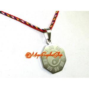 Feng Shui Bagua Stainless Steel Pendant