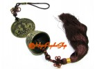 Feng Shui Dragon Bell Tassels with Pair of Pi Yao