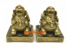 Feng Shui Seated Pair of Pi Yao for Wealth Luck