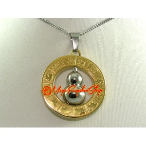 Feng Shui Wu Lou Pendant with 12 Horoscope Animals