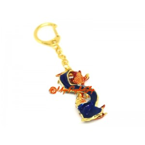 Figure of 8 Carp for Abundance Keychain