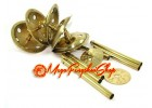 5-Tier 6 Rods Brass Feng Shui Windchime