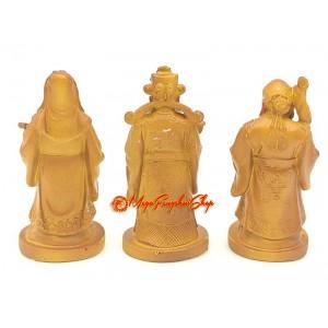 Fuk Luk Sau Deities Statue