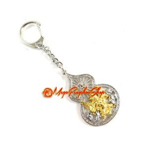 Garuda Wu Lou Amulet Keychain for Health Luck