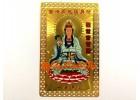 Goddess of Mercy Guan Yin Card (Metal)
