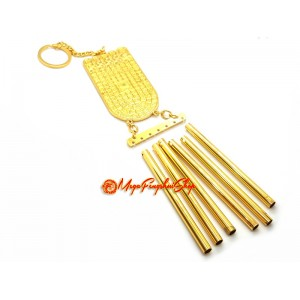 Golden Buddha's Foot 6-Rod Windchime