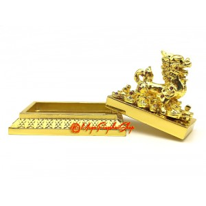 Golden Pi Yao Stamp for Big Wealth