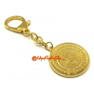 Happiness & Wealth Medallion Pendant