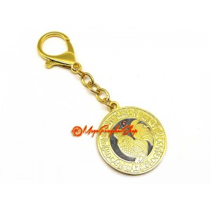 Happy Relationships & Anti-Infidelity Medallion Keychain/Pendant