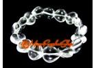 Hearts Crystal Bracelet (Clear Quartz)