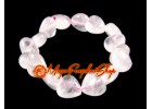 Hearts Crystal Bracelet (Rose Quartz)
